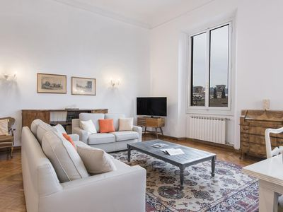 Photo for Spacious Loggia Santa Croce - 80385  apartment in Santa Croce with WiFi, air conditioning & private…