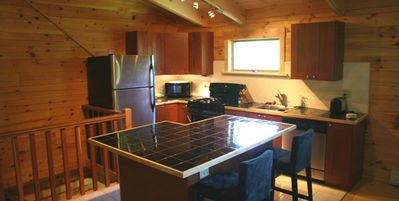 KITCHEN WITH FULL APPLIANCES AND COOKWARE