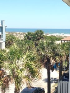 Photo for 19th Street beach side; Steps to beach; Sleeps 12; View