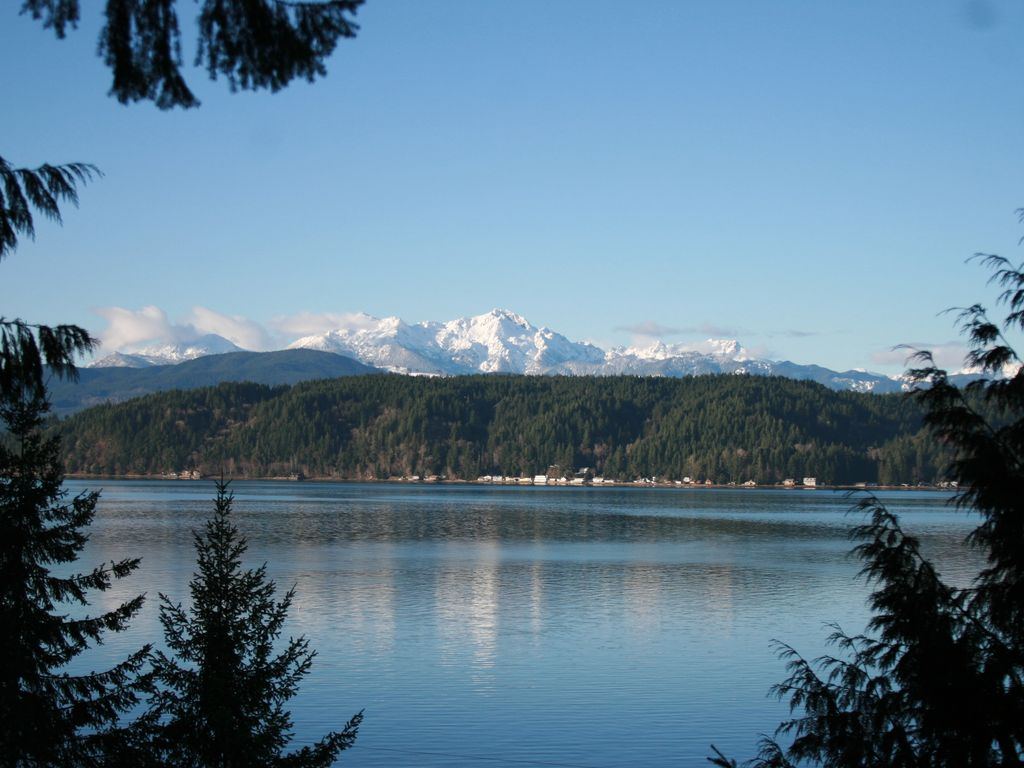 No Better View Of The Olympics Near Alderbrook Resort