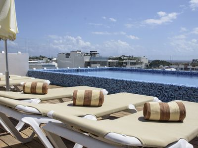 Photo for Spectacular condo in Playa del Carmen a few steps from Fifth Avenue