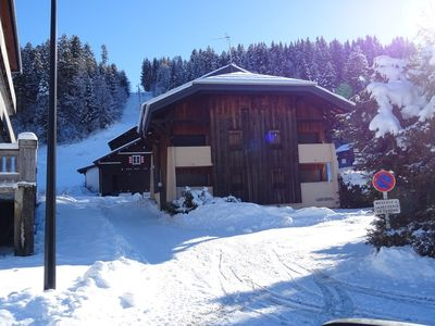 Photo for APARTMENT FOR RENT LES GETS - TWO PIECES DUPLEX 6 PERS - Turche FEET TRACKS - THE TELESKI Turche...