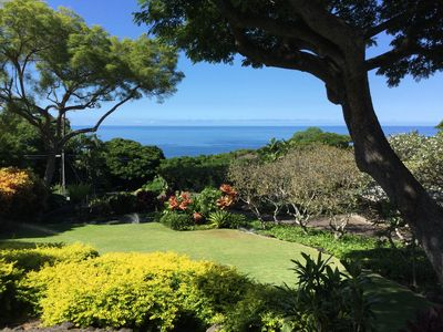 Photo for Incredible Ocean View, Private Home, 2 Pools, Spa, Secluded Hawaiian Landscape
