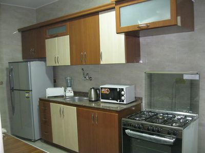 Photo for Three bedroom apartment with pyramids view