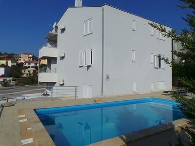 Photo for Holiday apartment with use of pool and balcony