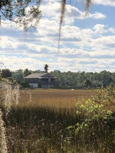 Photo for Marsh Views Surround, Water Activities Abound at Cozy Home 10 mins from St. Aug