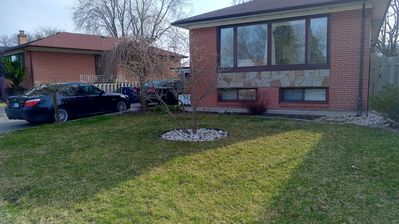 Photo for Cozy 2 Bdrm Apt - Free Wifi &Parking (8 mins to Pearson Airport)