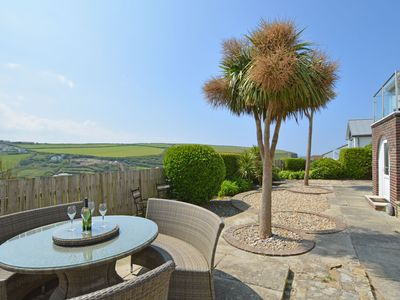Photo for Detached holiday home with lovely garden, stunning views and near the beach