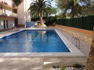 Photo for Fluromar apartments, air-conditioned, pool
