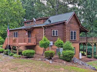 Photo for NEW! Cabin on 3 Acres w/ Fire Pit - 5 Mi to TIEC!