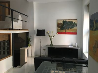 Photo for Giant loft in Madrid Rio, 2 double bedrooms