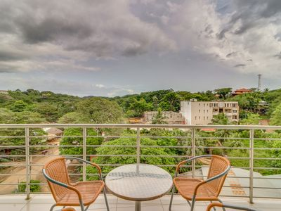 Photo for Modern apartment near beach with shared swimming pool & gorgeous hillside views!