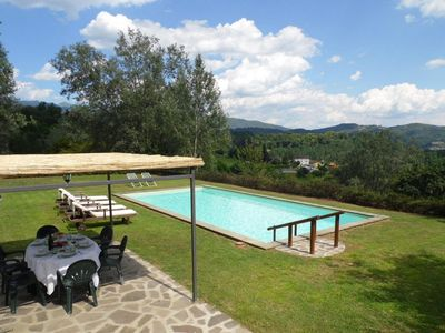 Photo for Baroni, Villa, Private pool, mountain views , walk to lake/bar/golf, WIFI