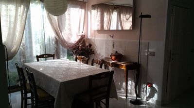 Photo for Elegant House, Garden in the heart of Florence, ADSL  Wi-fi Free, Parking is already included!