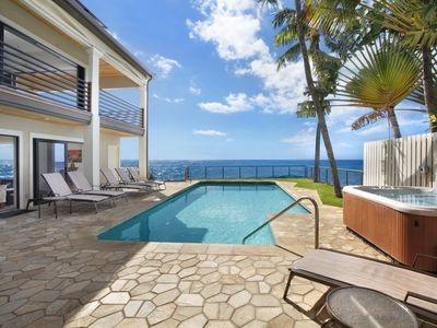 Photo for Villa Kailani: Stunning Oceanfront Home w/ Pool, Spa & AC has Room For Everyone!