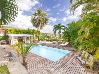 Photo for The treasure of La Buse - Villa with pool and sea view