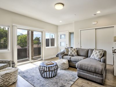 Photo for Downtown Skyline | Rooftop Patio | Modern Townhome