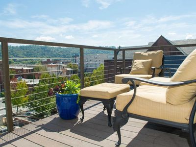 Photo for Third Floor condo with amazing views of Downtown Asheville