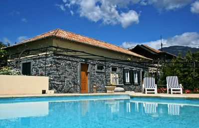 Photo for Charming restored stone cottage in Funchal centre – Casa das Vinhas