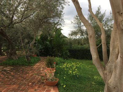 Photo for 20 Km from Palermo, comfortable villa 300 meters from the sea surrounded by greenery