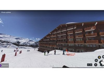 Photo for Apartment PLAGNE SOLEIL - 5 People - Direct access to the slopes from living room