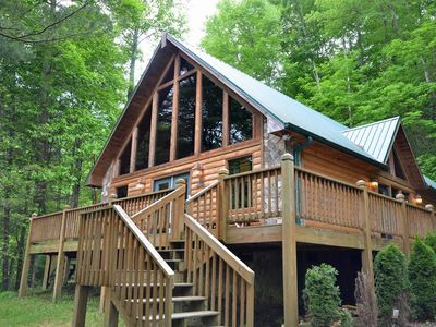 Photo for MooseTrax-Watershed Cabins-Private and Secluded