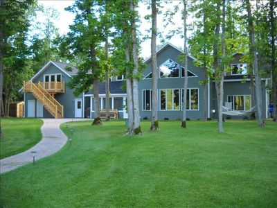 Photo for Large Lakehome on Secluded Howard Lake Ideal for Multi Familys