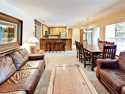 Photo for Lakeside Living w/ Heated Pool & 3 Hot Tubs - Walk to Gondola & Town Center!
