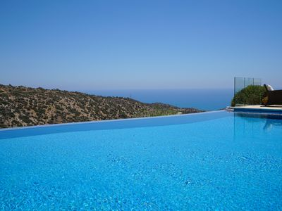 Photo for Luxury 4 bedroom Villa with Stunning Sea Views, golf and tennis.