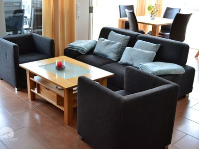 Photo for Möwennest 7 - Beautiful apartment, only 80 m to the sandy beach, WiFi