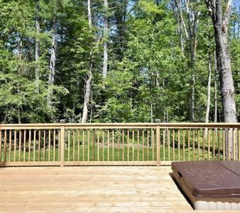 Photo for All year around newly renovated cul de sec quiet cottage with new hot tub