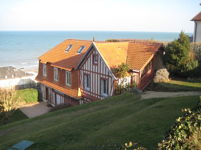 Photo for Quiet house, 2 steps from the sea, with great views and close to downtown