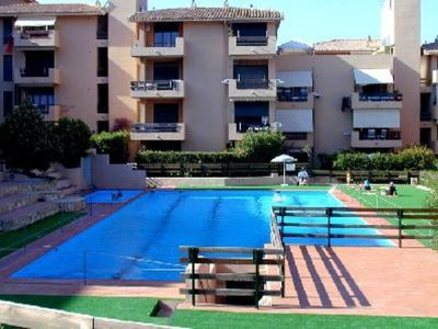 Photo for Apartment  with private swimming pool, La Maddalena