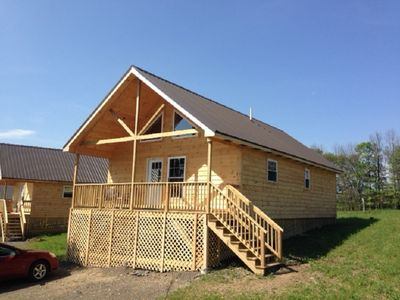 Photo for Double Play Cabins 3 - Only 3 Miles To Dreams Park & 5 Miles To Cooperstown