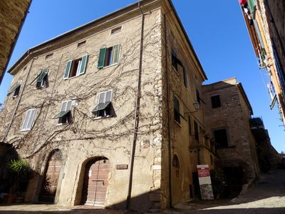 Photo for Apartment in the medieval historic center of Suvereto in the Tuscan Maremma