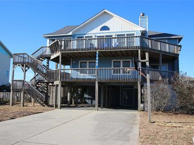 Photo for #4006: Partial OCEAVIEW Home in Corolla w/Private Pool & HotTub