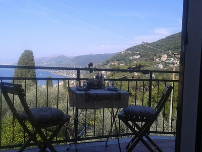 Photo for Comfortable apartment between the sea and the olive trees