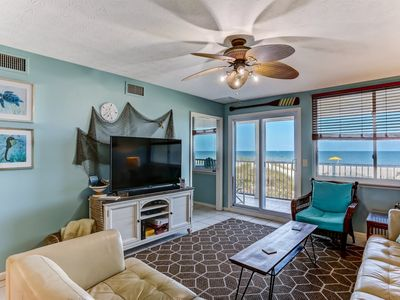Photo for 2 Bedroom Oceanfront Condo with Elevator! Pet Friendly
