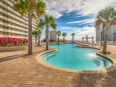 Photo for NEW LISTING! Gorgeous, waterfront condo w/ beach views plus shared pools/hot tub