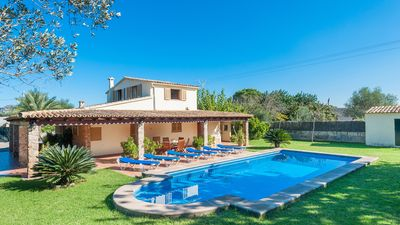 Photo for Villa for 6 people in Pollensa, pool, garden, WIFI, near the beach