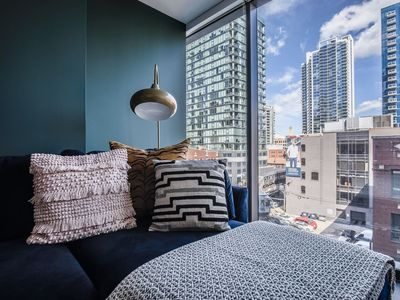 Photo for Domio | Merchandise Mart | Prime 2 BR + Pool and Fitness Center
