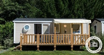 Photo for Camping Les Chèvrefeuilles **** - Maeva Camping - Mobile Home Goélette 4 Rooms 6/8 People