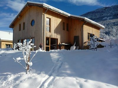 Photo for Ecogite for 5/7 people with traditional sauna in the Vercors
