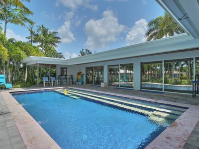 Photo for Waterfront Heated Pool Home With Dock in Heart of Fort Lauderdale!