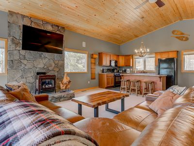 Photo for NEW Listing! White Mountain Chalet Getaway, Promos for Military/First Responders