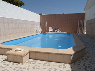 Photo for Cottage with pool, Villa 4 Nietos