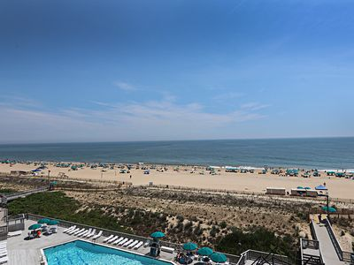 Photo for I609: Updated 3BR Sea Colony oceanfront condo | Private beach, pools, tennis ...