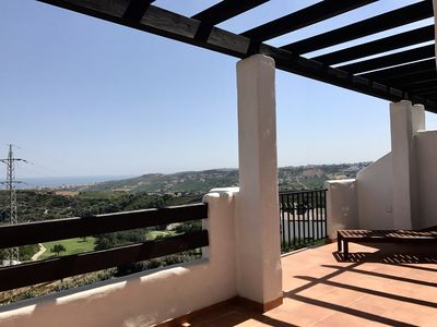 Photo for Fabulous views to the sea and golf. Min three nearest golf courses