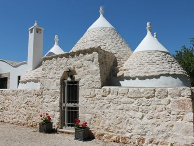 Photo for Traditional Trullo, private pool, 3 beds, 2 bath in 4 acres