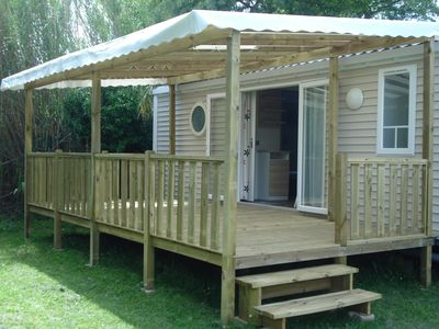 Photo for SPACIOUS MOBIL HOME RENTAL 3 BEDROOMS 6 BEDS IN CAMPING 4 *